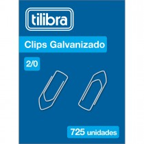 Clips 2/0 Galvanizado 725 Unidades