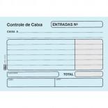 Imagem - Controle de Caixa Entrada Azul - 100 Folhas