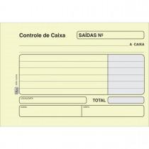 Imagem - Controle de Caixa Saida Amarela - 100 Folhas