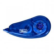 Imagem - Corretivo em Fita 5mmx6m Azul - Blister com 1 Unidade
