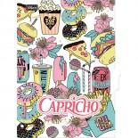 Imagem - Divisórias para Caderno Argolado Universitário Capricho - Sortido