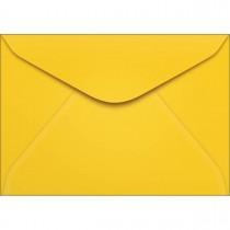 Imagem - Envelope Carta TB11 Amarelo 114x162mm - Caixa com 100 Unidades