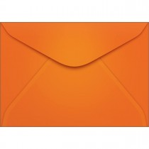 Imagem - Envelope Carta TB11 Laranja 114x162mm - Caixa com 100 unidades