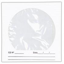Imagem - Envelope para CD/DVD Branco 125x125mm - Caixa com 100 Unidades