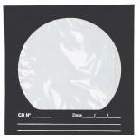 Imagem - Envelope para CD/DVD Preto 125x125mm - Caixa com 100 Unidades