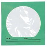 Imagem - Envelope para CD/DVD Verde 125x125mm - Caixa com 100 Unidades