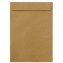 Envelope Saco Kraft Natural KN17 110x170mm - Caixa com 250 Unidades