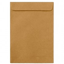 Imagem - Envelope Saco Kraft Natural KN47 370x470mm - Caixa com 100 Unidades
