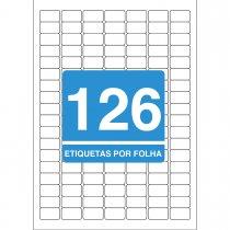 Imagem - Etiqueta Adesiva Inkjet + Laser A4 26,0x15,0 249 25 Folhas 3150 Unidades