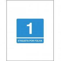 Imagem - Etiqueta Adesiva Inkjet/Laser Carta 279,4mmx215,9mm TB6085 10 Unidades
