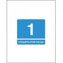 Imagem - Etiqueta Adesiva Inkjet + Laser Carta 279,4x215,9mm 6085 10 Folhas 10 Unidades
