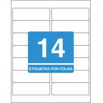 Imagem - Etiqueta Adesiva Inkjet + Laser Carta 33,9x101,6mm 628225 Folhas 350 Unidades
