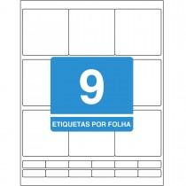 Imagem - Etiqueta Adesiva Inkjet/Laser Carta 69,85mmx69,85mm TB8296 225 Unidades