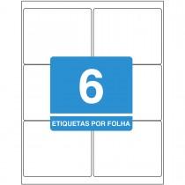 Imagem - Etiqueta Adesiva Inkjet/Laser Carta 84,7mmx101,6mm TB6184 600 Unidades