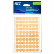 Imagem - Etiqueta Adesiva Multiuso 19mm Ouro 6 Folhas 210 Unidades