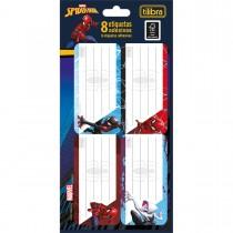Imagem - Etiqueta Escolar Adesiva Spider-Man
