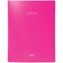 Imagem - Fichário 4 Argolas em Polipropileno Lombada 40mm Neon Rosa