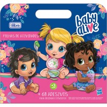 Imagem - Folhas de Atividades Maleta com Adesivo Baby Alive - 8 Folhas