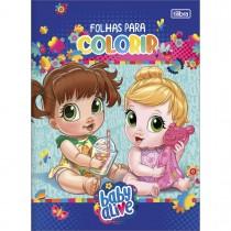 Imagem - Folhas para Colorir Baby Alive 8 Folhas