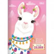 Imagem - Folhas para Colorir Hello! 8 Folhas
