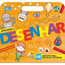 Imagem - Folhas para Colorir Maleta Aprender a Desenhar Académie