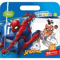 Imagem - Folhas para Colorir Maleta com Adesivo Spider-Man 16 Folhas
