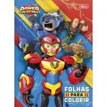 Imagem - Folhas para Colorir Power Players 8 Folhas