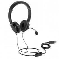 Imagem - Fone de Ouvido USB com microfone e controle de volume