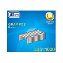 Imagem - Grampo 23/20 90-160 Folhas Galvanizado 1000 Unidades