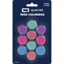 Imagem - Ímã Redondo Colorido - Blister com 10 Unidades