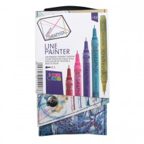 Imagem - Kit Estojo com 5 Canetas Graphik Line Painter 0,5mm - Paleta #03