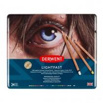 Imagem - Lápis de Cor Permanente Lightfast 24 Cores Estojo Lata