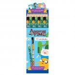 Imagem - Lápis Preto Redondo N.2 Adventure Time (Caixa com 72 unidades)