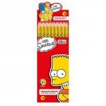 Imagem - Lápis Preto Redondo N.2 Simpsons (Caixa com 72 unidades)