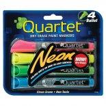 Imagem - Marcador de Quadro Branco Neon Quartet - Kit com 4 unidades