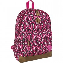 Mochila de Costas Plus Love Pink