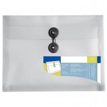 Imagem - Pasta Envelope Polipropileno 0,25mm Duplicata 225x170mm Organizer Cristal