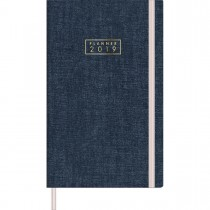 Imagem - Planner Costurado Cambridge Denim 2019