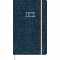 Imagem - Planner Costurado Cambridge Denim 2020