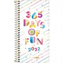 Imagem - Planner Espiral 11,9 x 24 cm Be Nice 90 G 2022 - 365 Days of Fun - Sortido