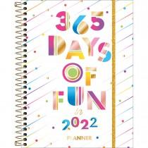 Imagem - Planner Espiral 17,7 x 24 cm Be Nice 90 G 2022 - 365 Days of Fun - Sortido