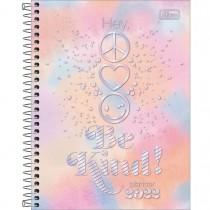 Imagem - Planner Espiral 17,7 x 24 cm Good Vibes 2022 - Laranja e Rosa - Sortido