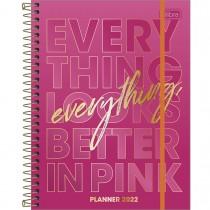 Imagem - Planner Espiral 17,7 x 24 cm Love Pink 2022 - Sortido