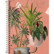 Imagem - Planner Espiral 17,7 x 24 cm Naturalis 2022 - Embrace Nature Folhas em Vasos - Sortido