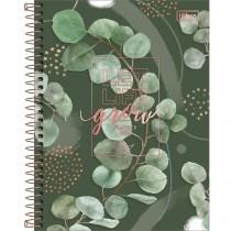 Imagem - Planner Espiral 17,7 x 24 cm Naturalis 2022 - Let Life Grow Fundo Verde - Sortido