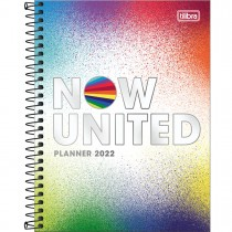 Imagem - Planner Espiral 17,7 x 24 cm Now United 2022 - Sortido