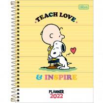 Imagem - Planner Espiral 17,7 x 24 cm Snoopy 2022 - Sortido