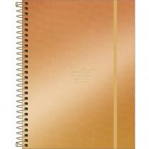 Imagem - Planner Espiral 17,7 x 24 cm West Village Metalizado 2022 - Degradê Dourado - Sortido