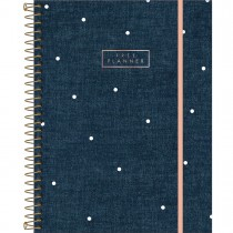 Imagem - Planner Espiral Cambridge Denim Permanente