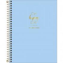 Imagem - Planner Espiral Happy Azul 2020